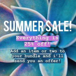 ✨SALE✨ 25% off everything!